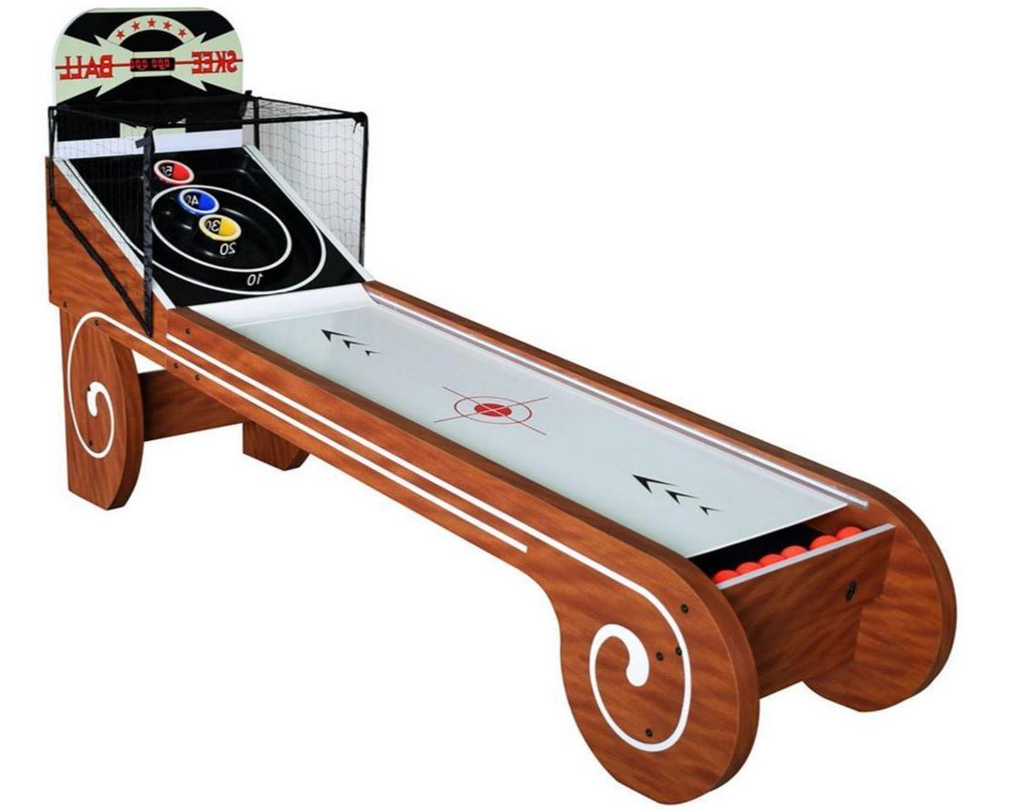 Hathaway Boardwalk 8' Skeeball Table Arcade Classic Game Ske