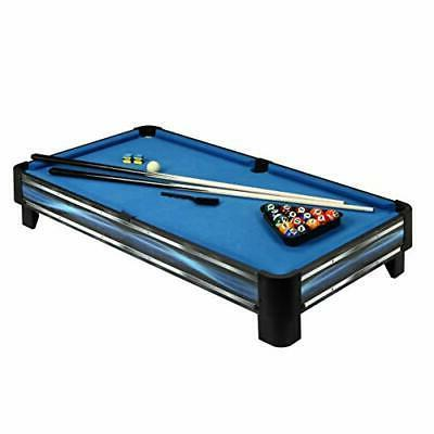 Hathaway 40-in Tabletop Pool Table, Blue