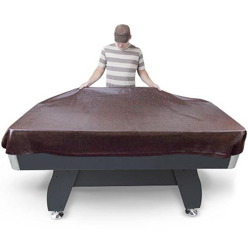 Felson Billiard 8-Foot Brown Table