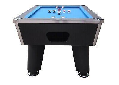 BUMPER TABLE in BLACK GRADE~BERNER BILLIARDS