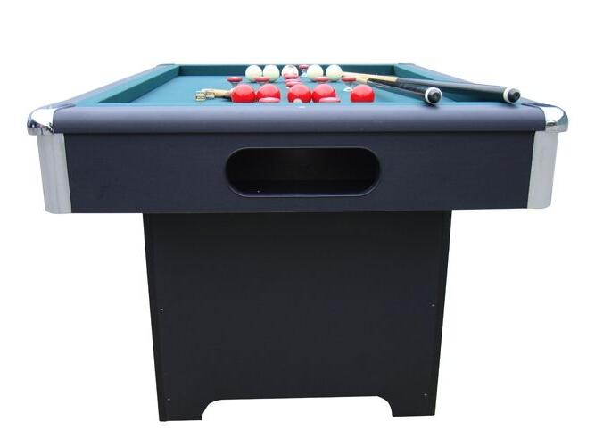 BUMPER TABLE BLACK w/ CUES by ~ NEW