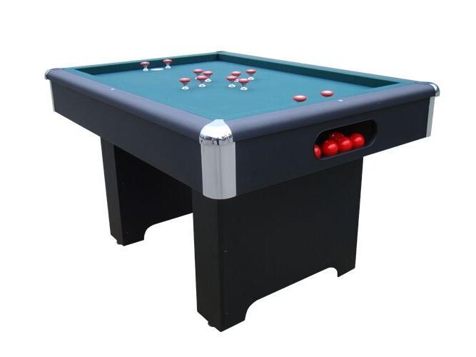 BUMPER TABLE BLACK w/ BALLS by BERNER BILLIARDS ~ NEW