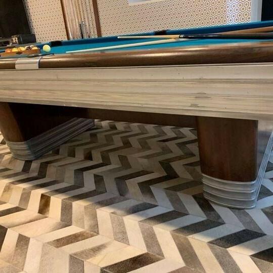 Brunswick Pool Table.