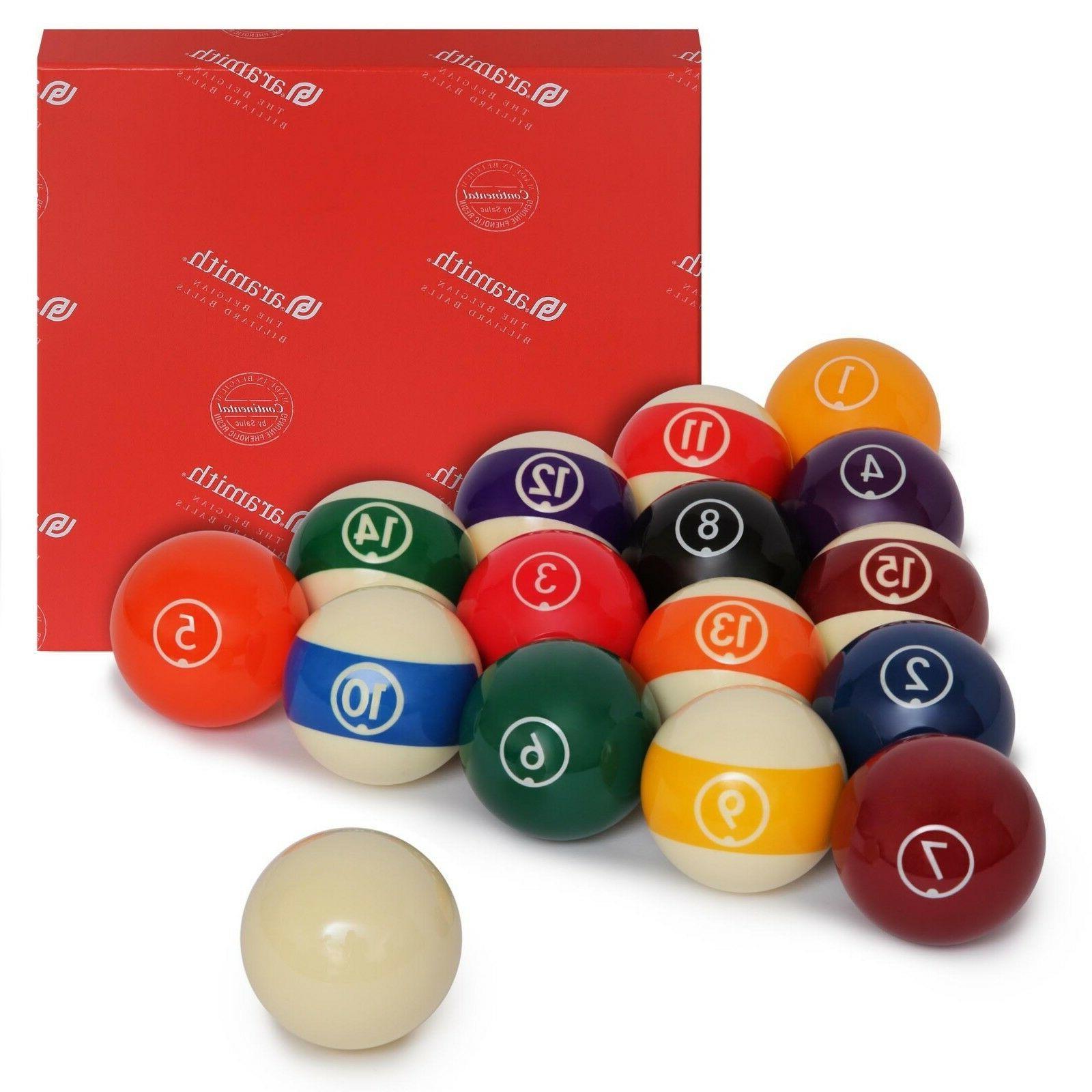 continental billiard pool ball set 2 1