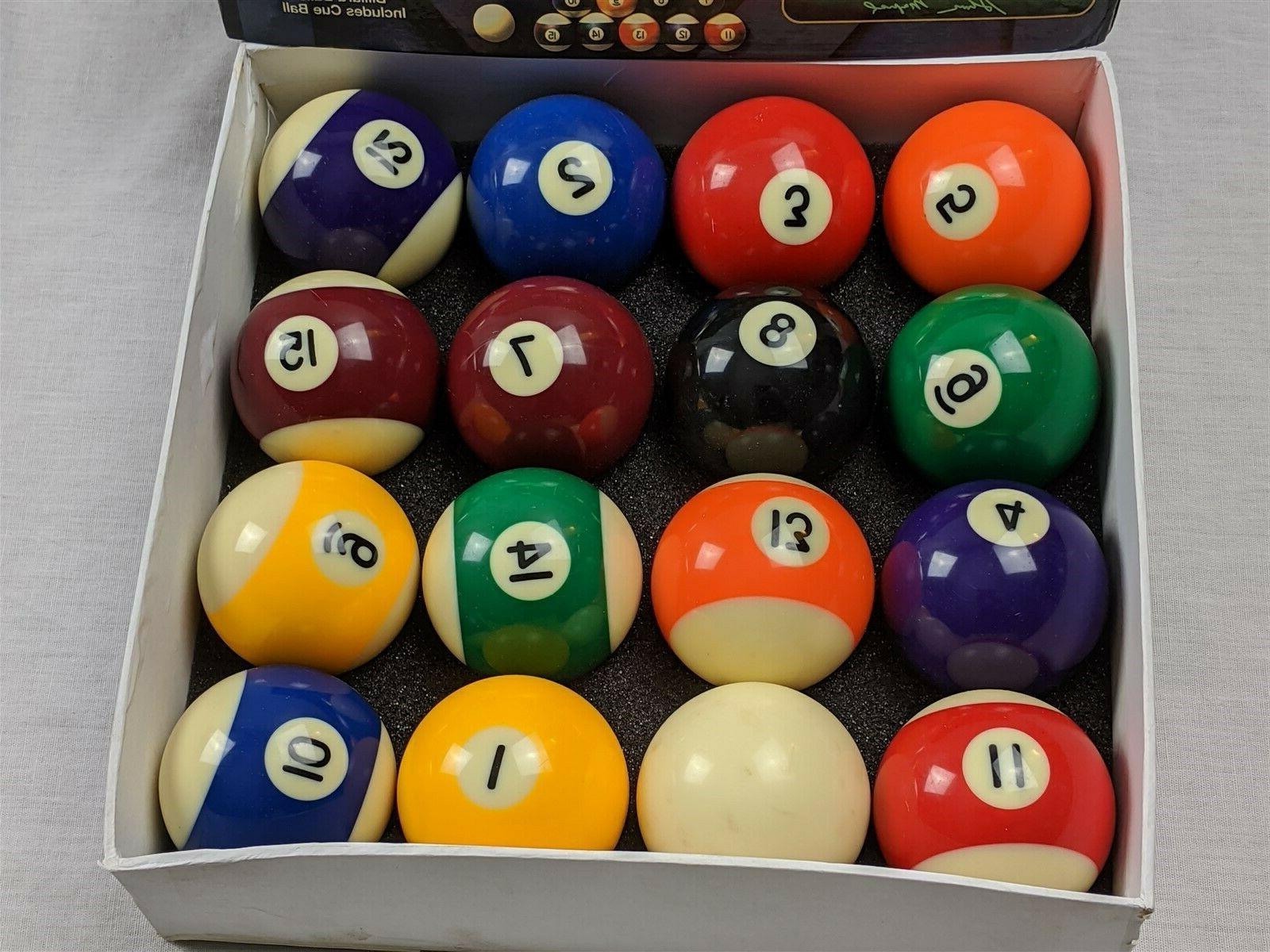 Mizerak Billiard Set Standard Size Pool + cue