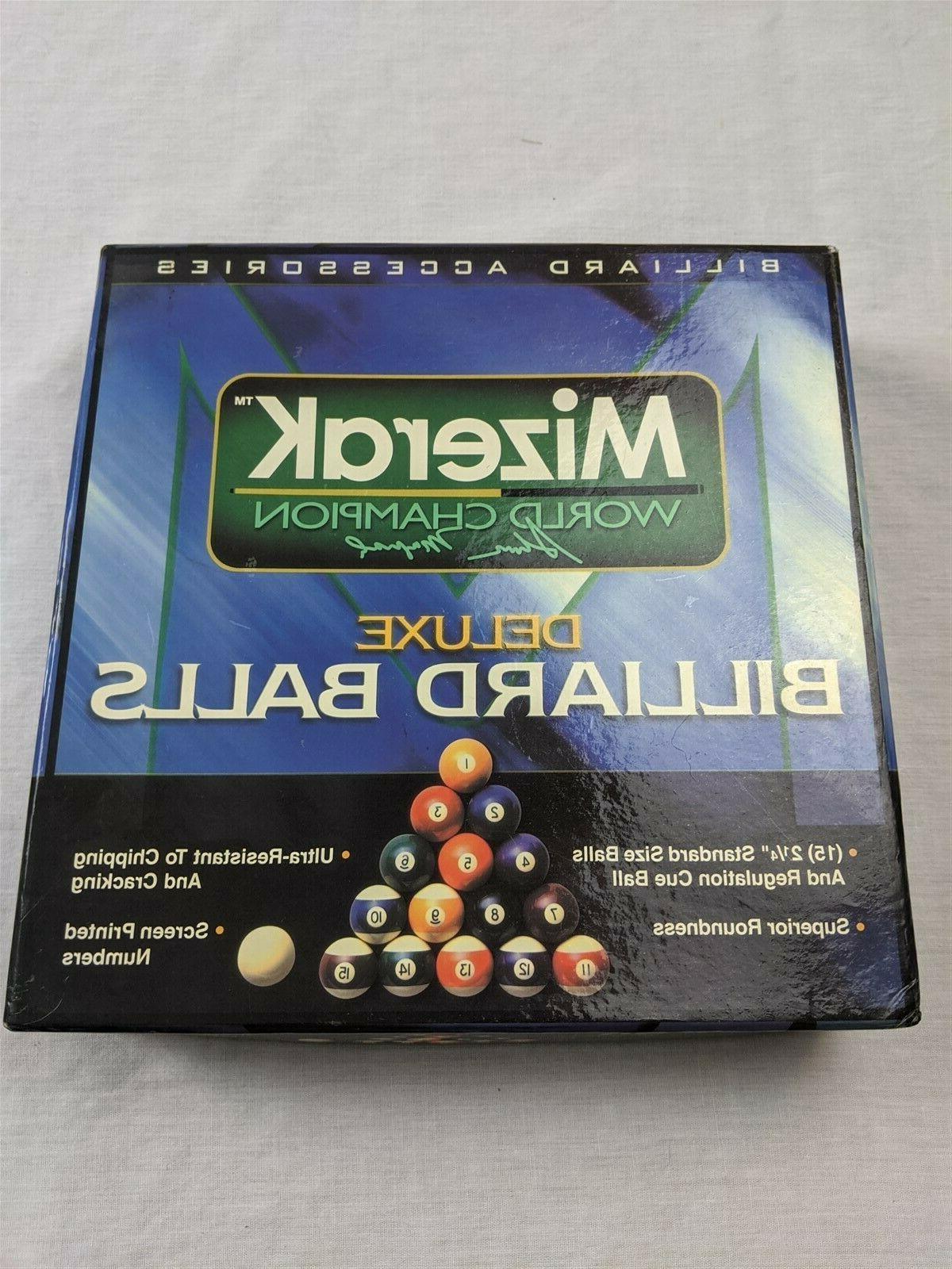 deluxe billiard balls set 2 1 4