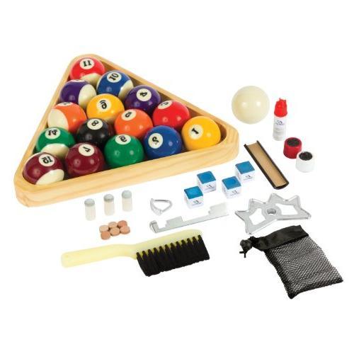 deluxe billiard starter set