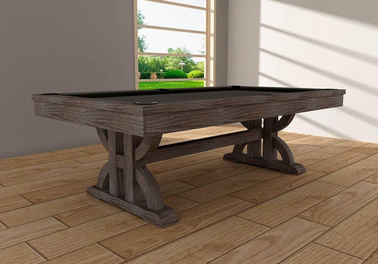 drummond pool table by 8 weathered dark