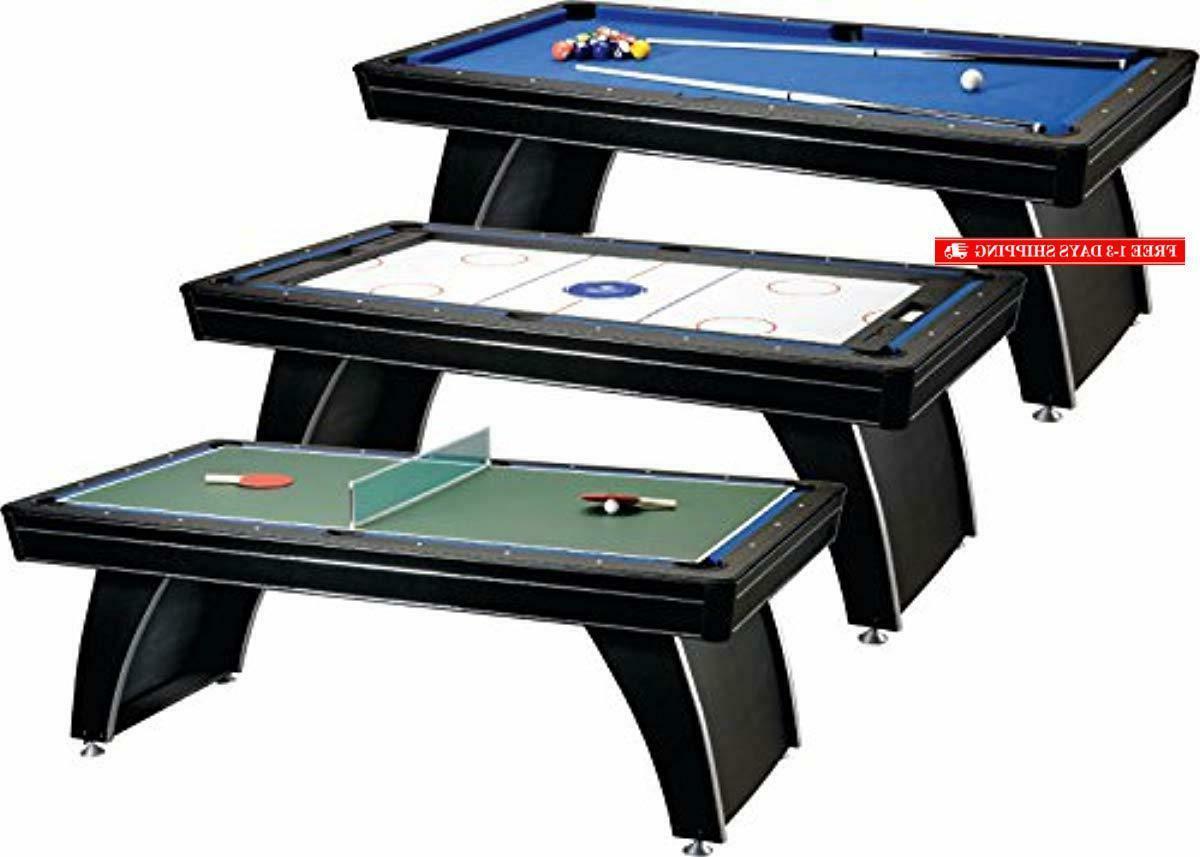 Fat Cat 3-in-1, 7-Foot (Billiards, Hockey Tabl