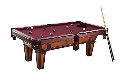 Fat 7.5' Pool with Dark Cherry and Wine Colored