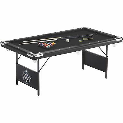 fat cat trueshot compact billiard pool table