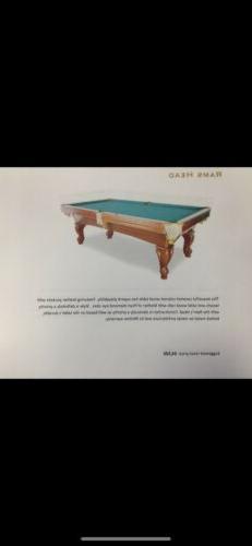 Highland Ram Championship Billiards Pool Table