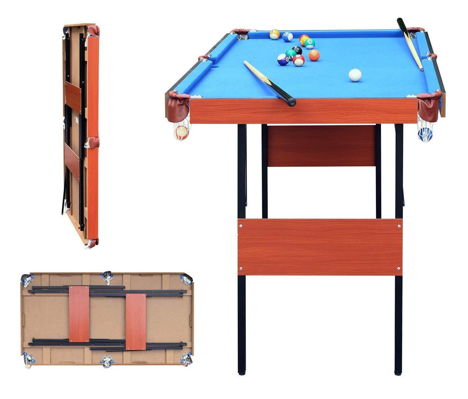 indoor folding pool snooker billiard game table