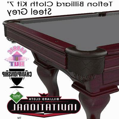 invitational teflon woolen billiard pool table cloth