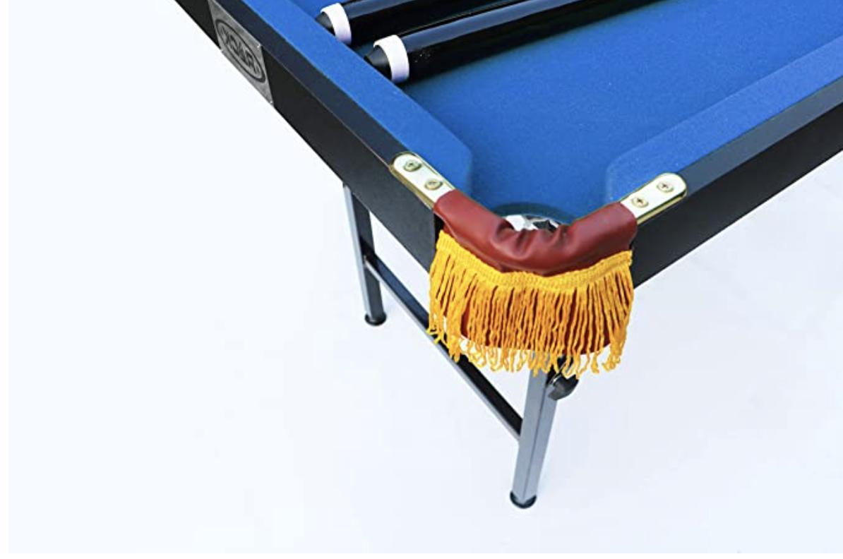 Rack Leo Foldable Billiard/Pool Table