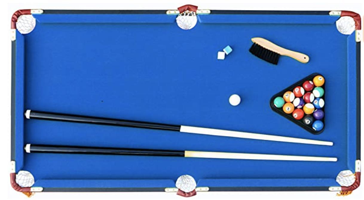 Rack 4-Foot Billiard/Pool Table