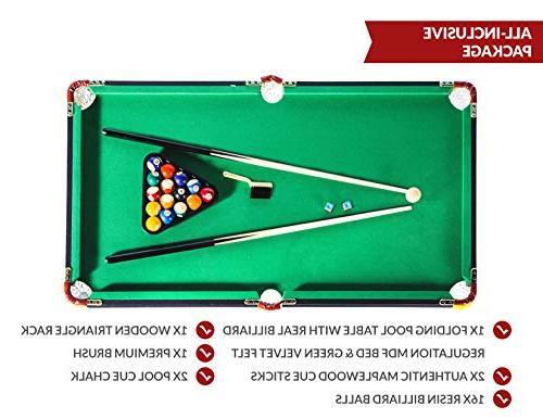 Rack Leo Billiard/Pool Table, Accessories