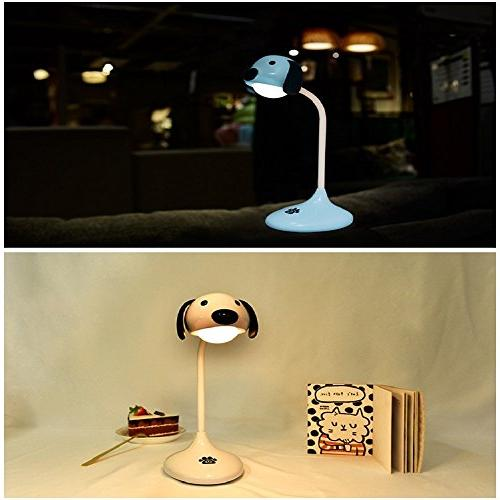 Amyove Lovely Touch Sensor Lamp Dimmable Light Color Night Decoration Pink