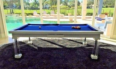 LUXURY POOL TABLE Billiard Desk Fusion 7' ft