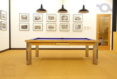 LUXURY POOL TABLE Billiard Desk Fusion MIRAGE 8' ft
