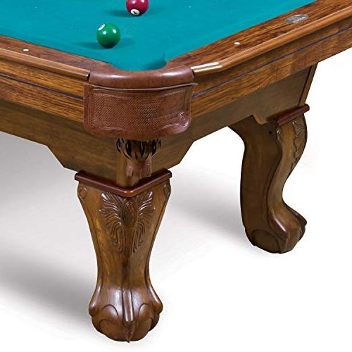 EastPoint Sports Masterton Billiard Pool - 87 Features Material Built-in Leg Levelers