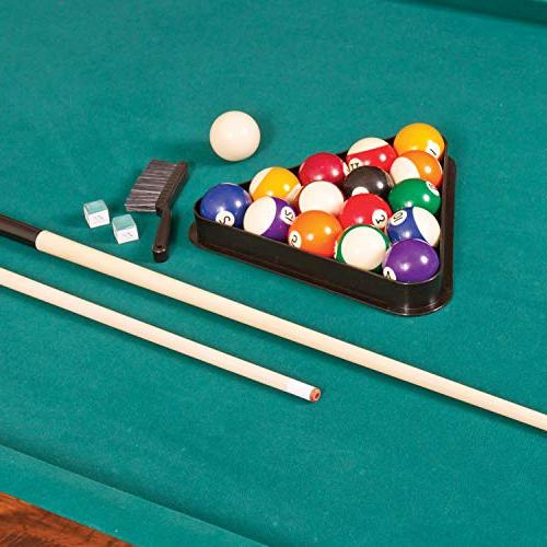 EastPoint Sports Billiard Pool - 87 Inch Features Durable Material Built-in Leg