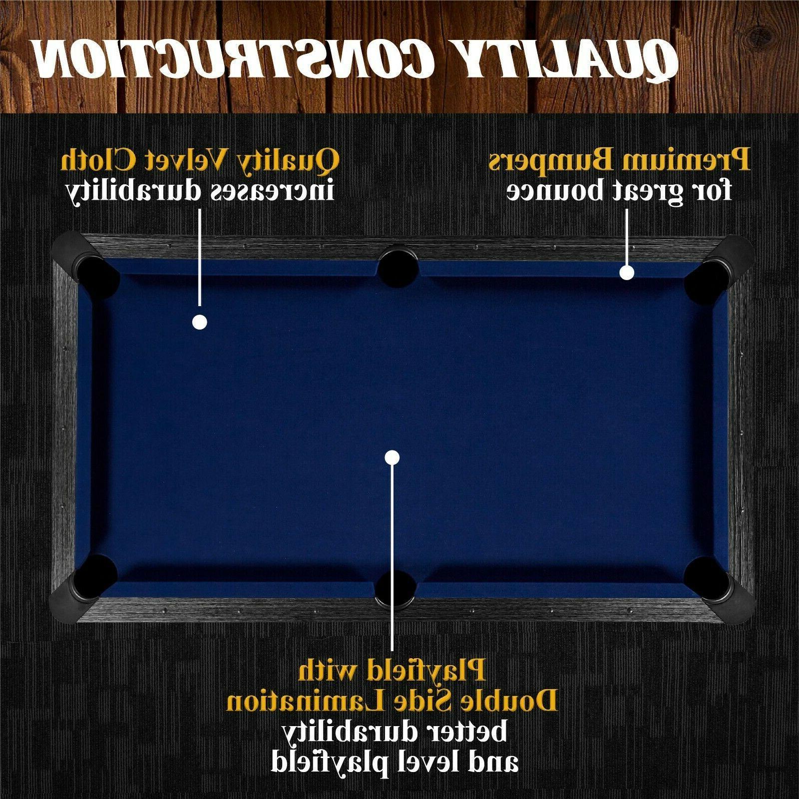 Mini Billiard Game with 2 Chalk 2 Triangle