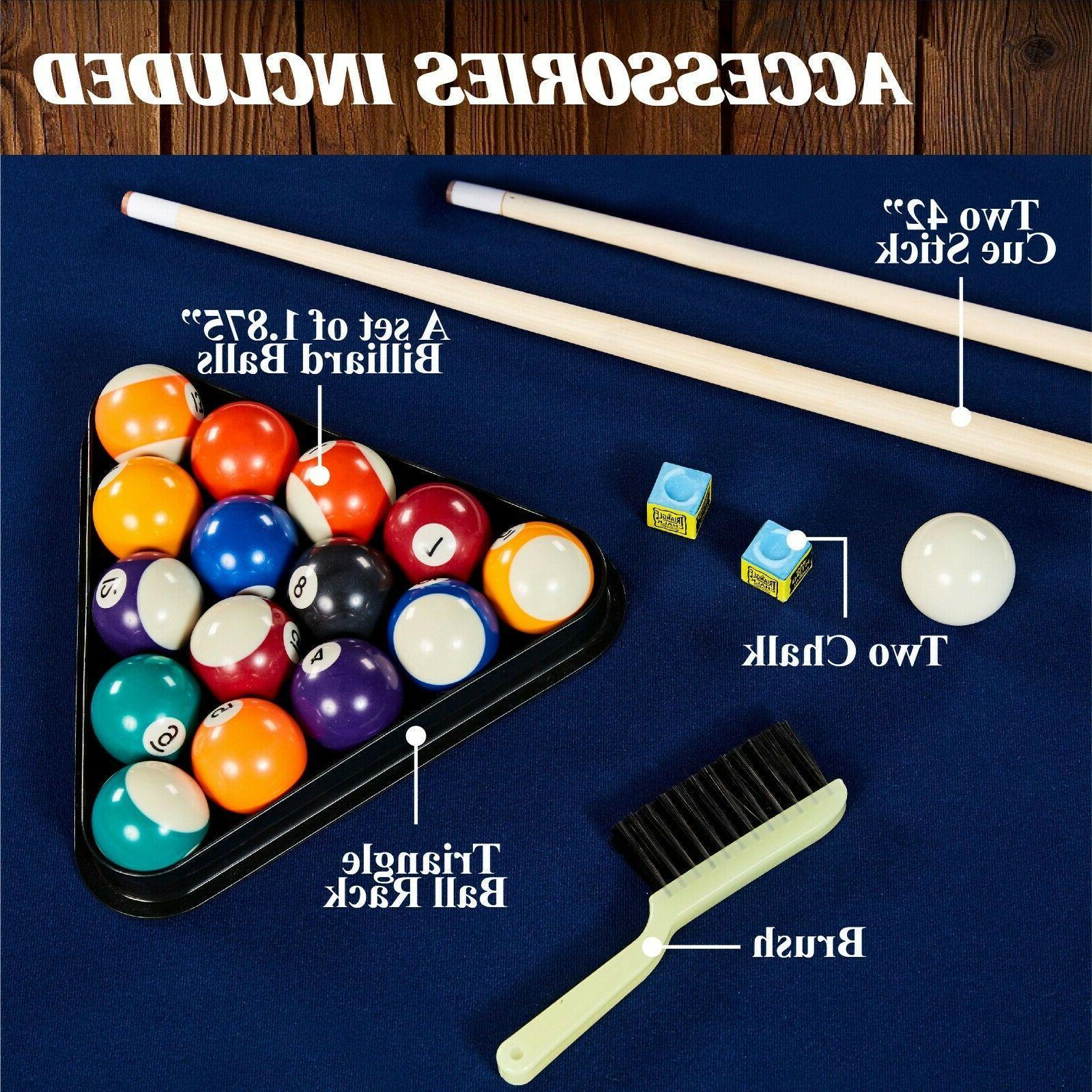 Mini Indoor Billiard Chalk Triangle Ball Set
