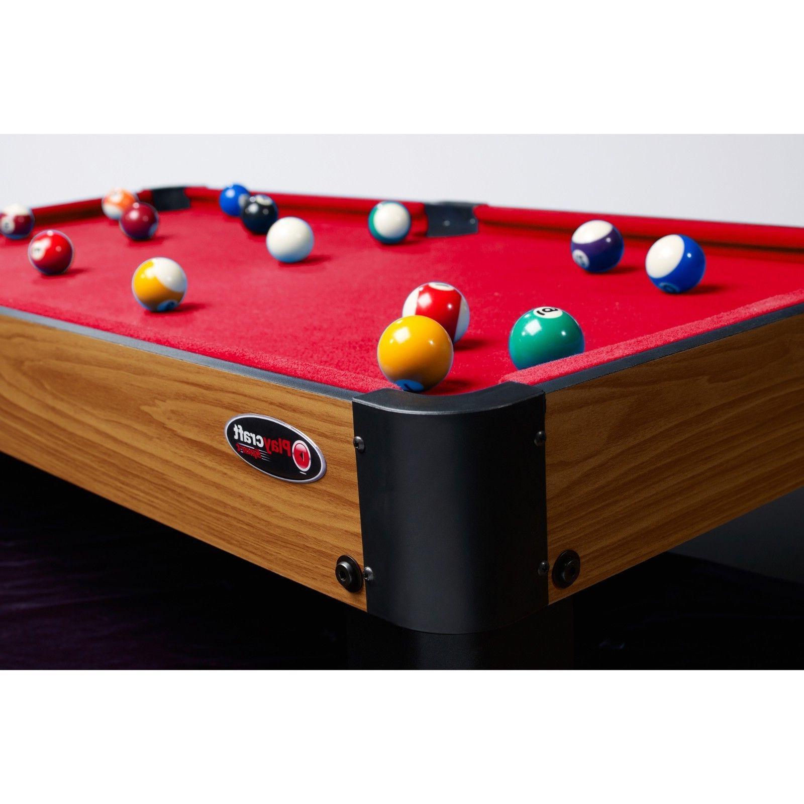 mini pool table top 40 inch billiards