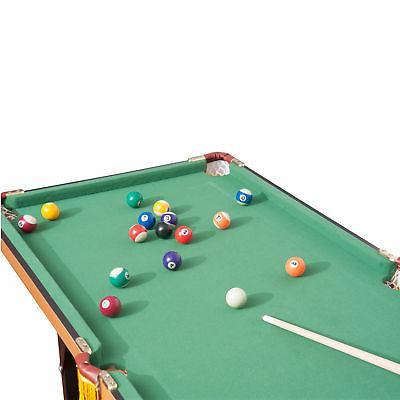 New 4.5ft Mini Top Table Billiard Board with Balls Set