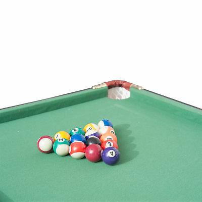 New 4.5ft Mini Top Pool Table Game Billiard Board Balls cues