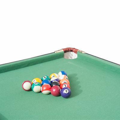 New 4.5ft Mini Top Pool Table Game Billiard Board Balls cues