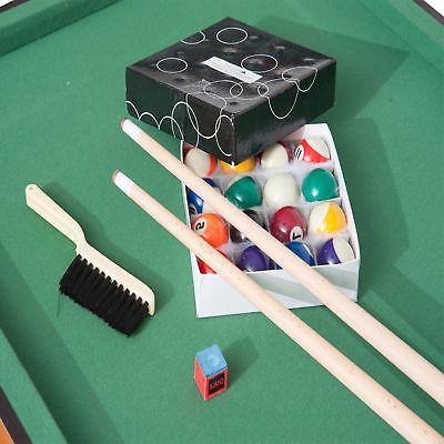 New Mini Top Table Billiard Board Balls Set