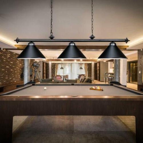 modern pool table light billiard 3 lights