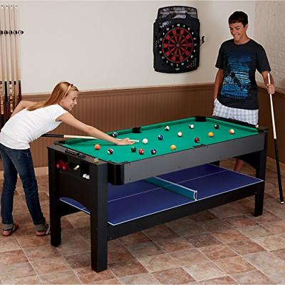 Fat Cat Original 7-Foot Table Air Billiards and