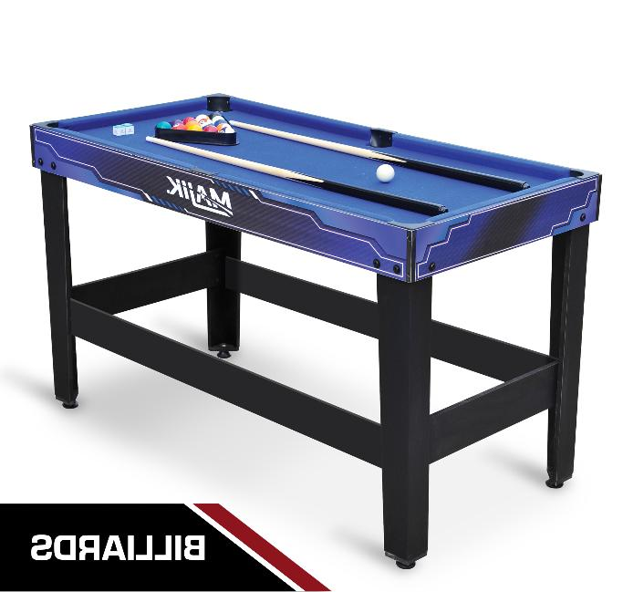 Pool 54 Inch Billiards Hockey Tennis Foosball Room