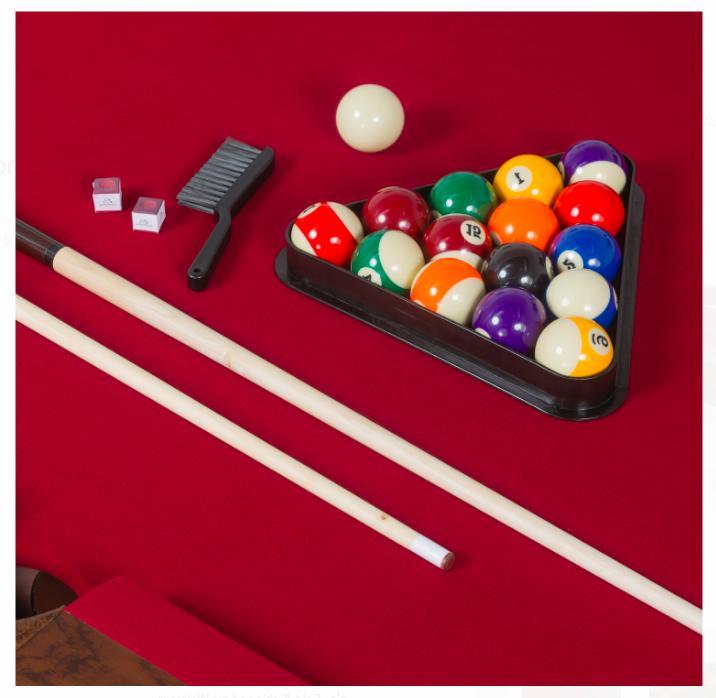 Billiard Pool table inch Brighton Scratch Game Burgundy Cloth