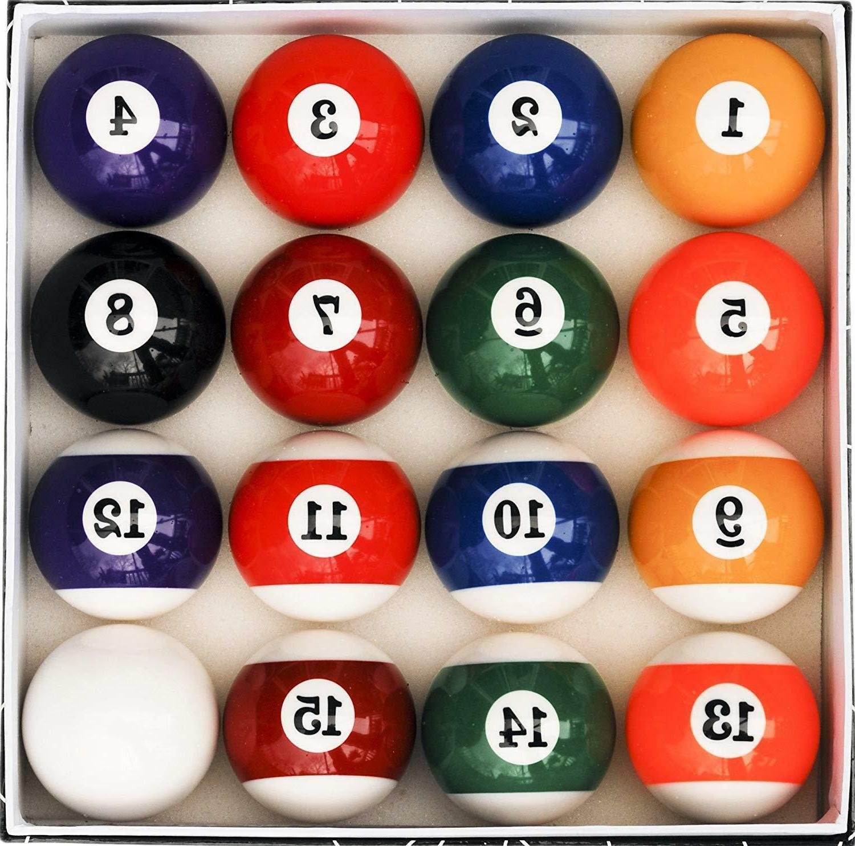 pool table ball set