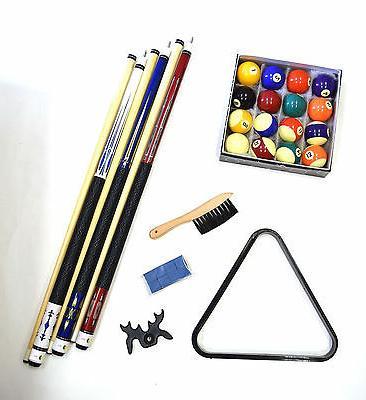 pool table billiard accessory kit cues ball