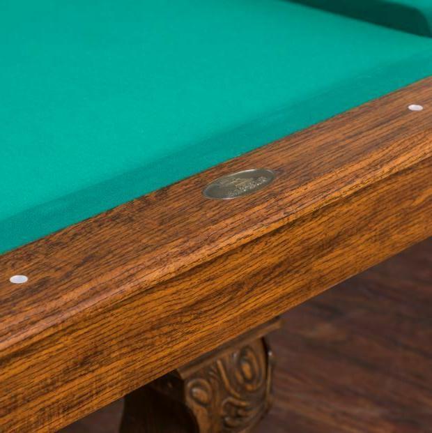 Pool Billiard Table Traditional Drop Dining Cue Rack Ball Chalk Leg