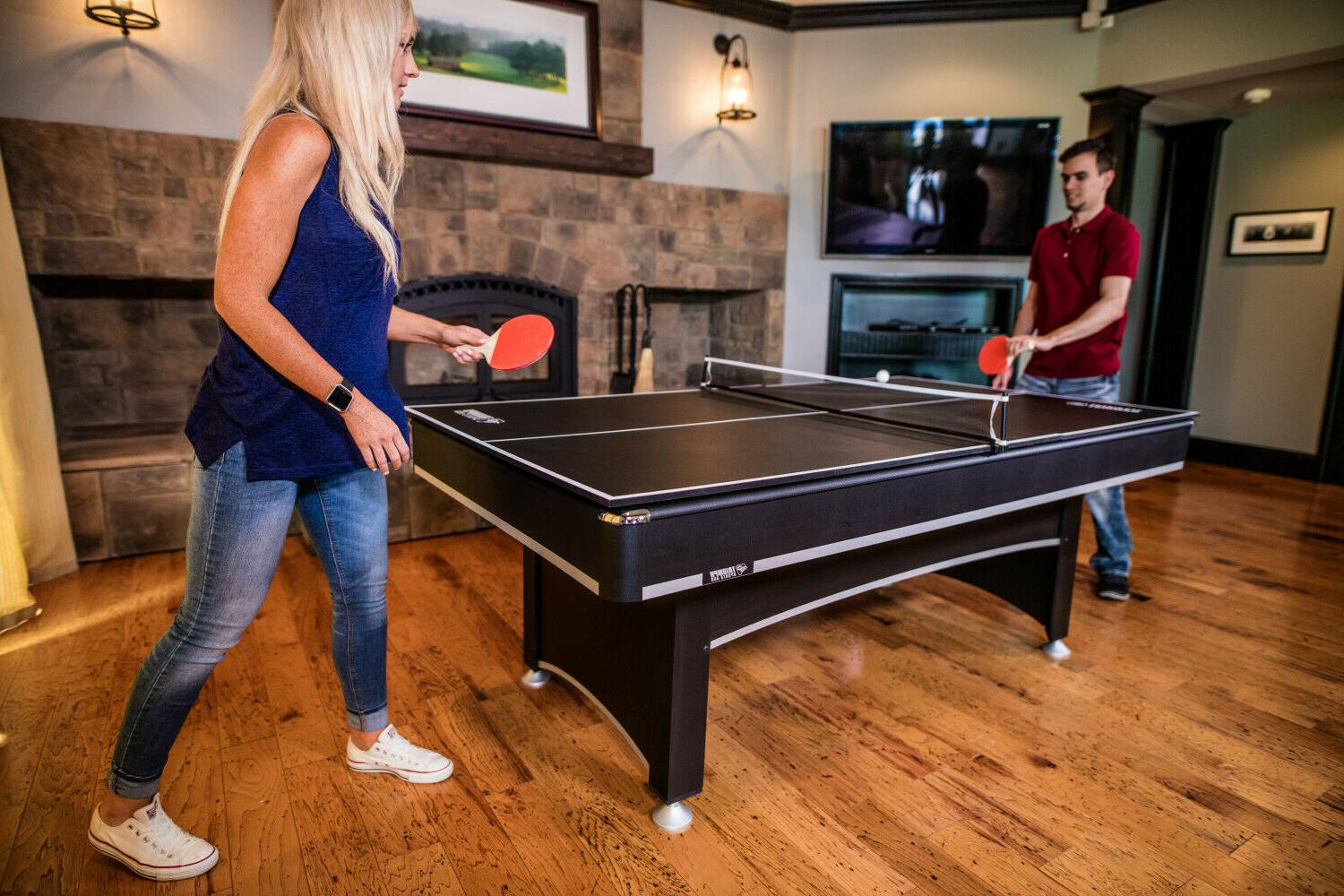 Pool With Ping Tennis Top