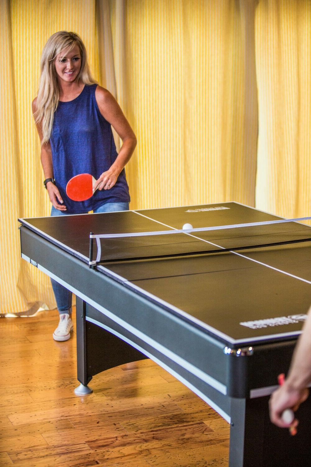 Pool With Pong Table Tennis Conversion