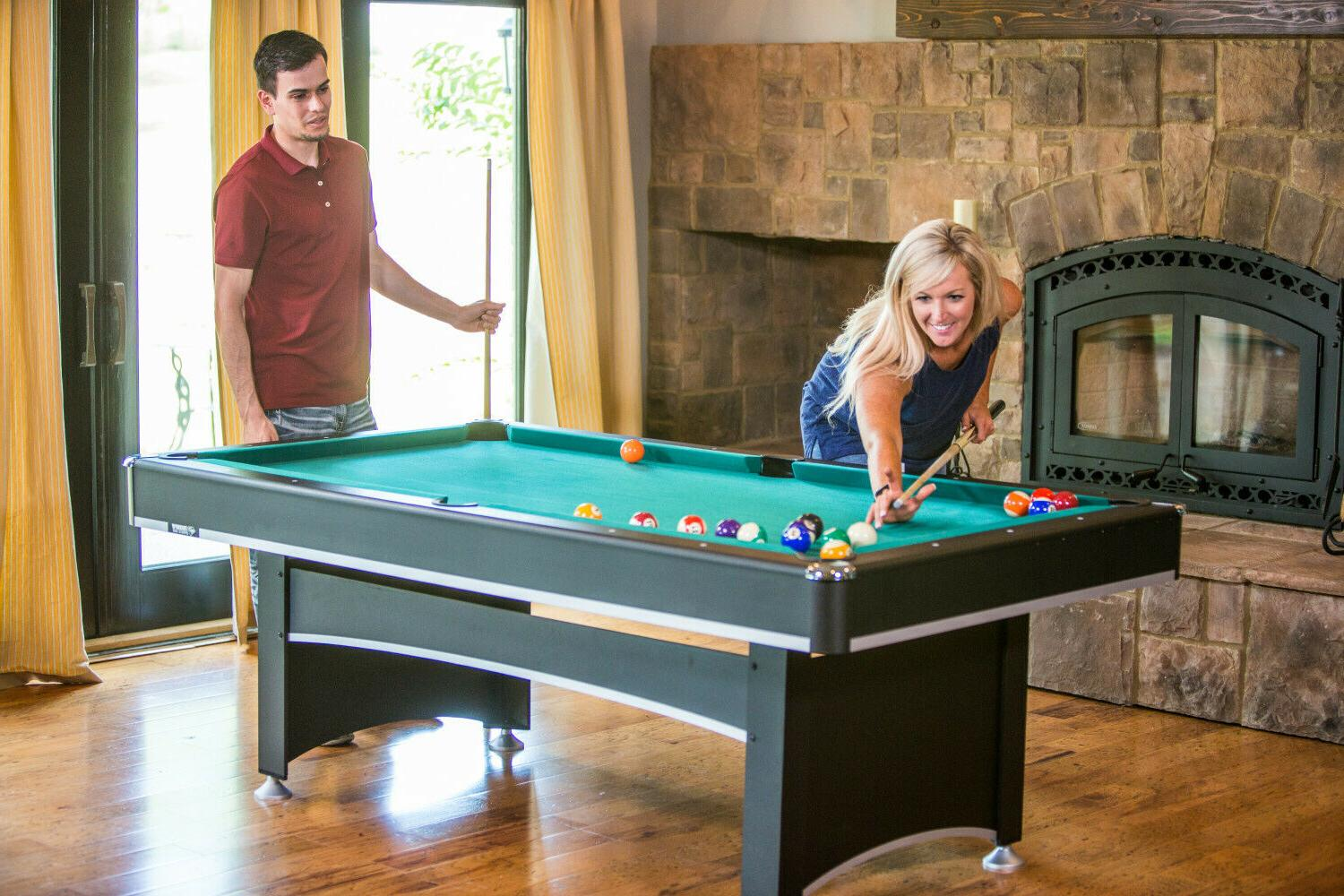 Pool Table With Ping Pong Tennis