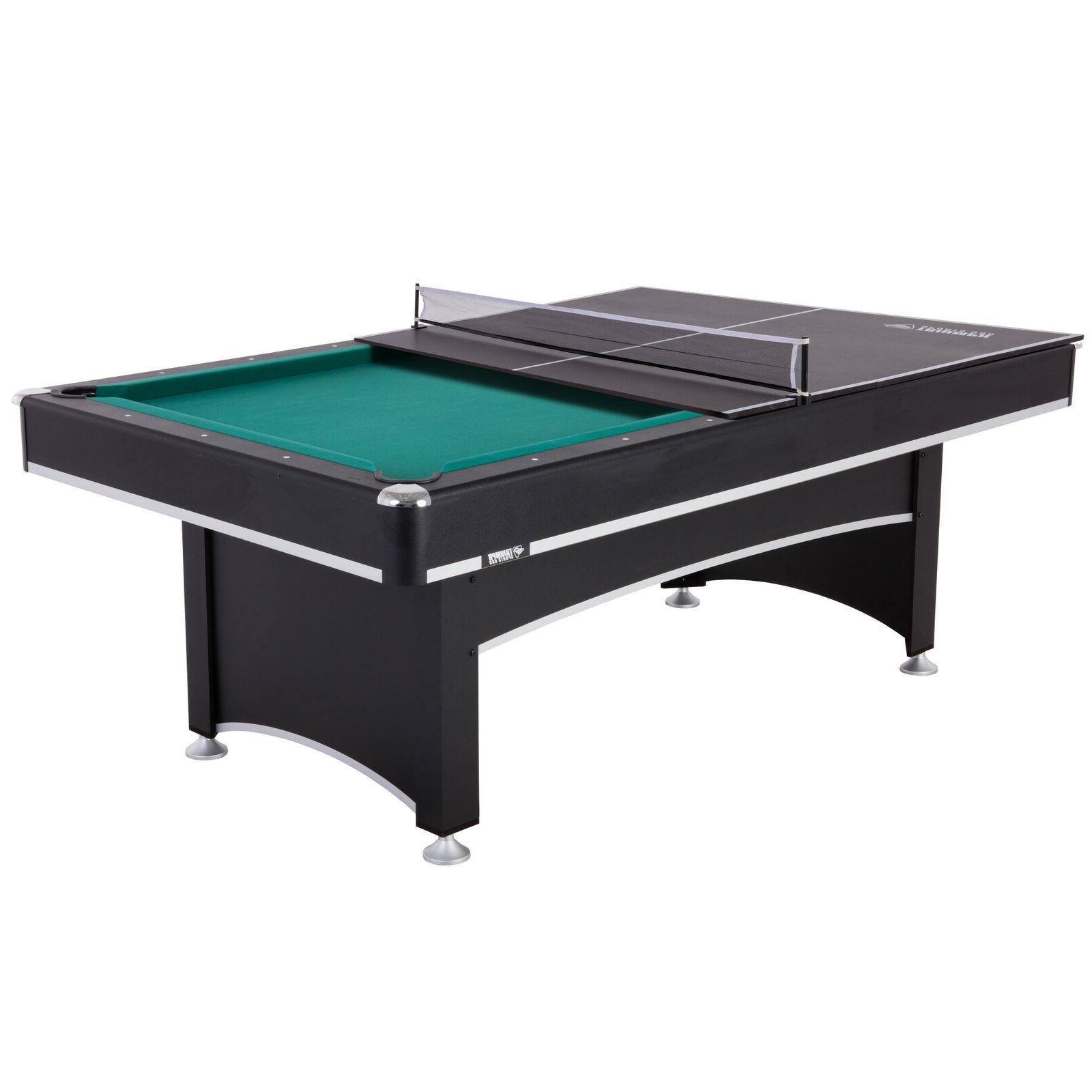 pool table billiards 7 with ping pong