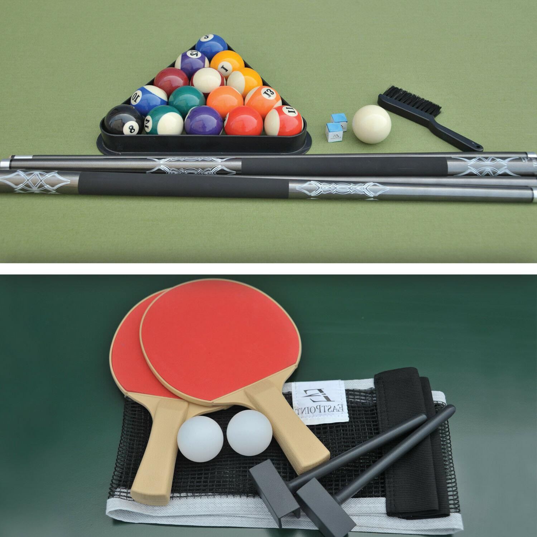 Pool Billiards Tennis 7 Combo Cloth Dorm