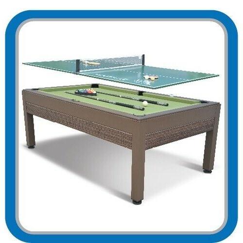 Pool Table Outdoor Tennis 7 Foot Cloth Balls Dorm