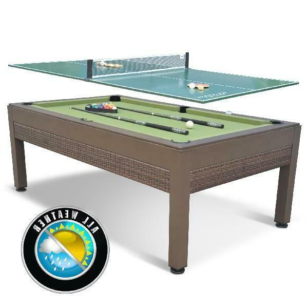 pool table billiards outdoor tennis 7 foot