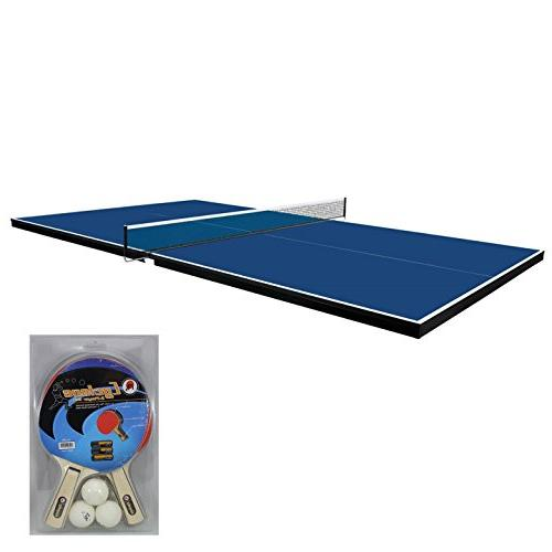 Martin Conversion Table Ping Pong – or Optional Ping Set - and Protection Pads Ping Pong Table Topper