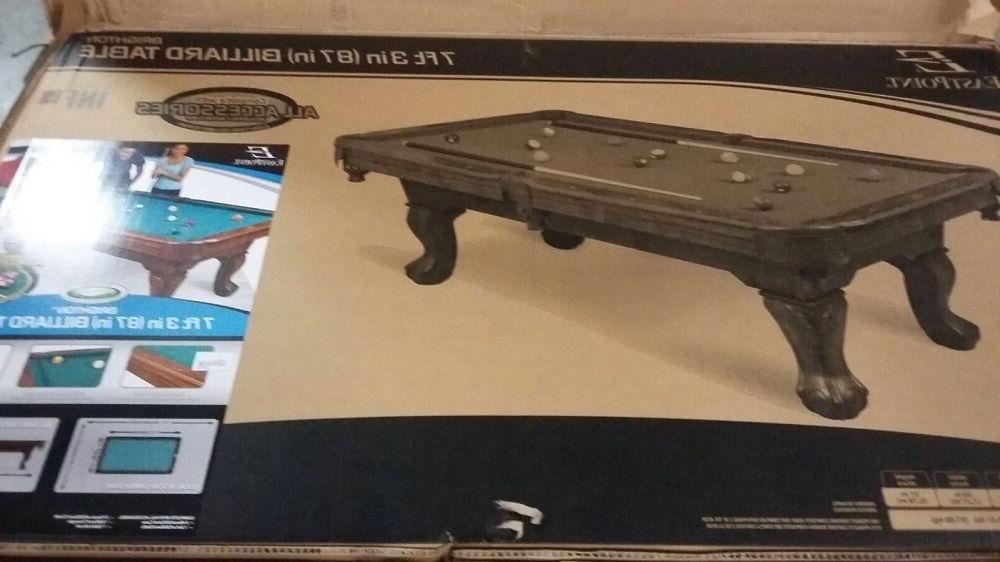 7 Pool Cover Billiards Table