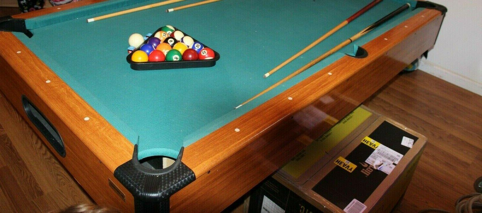 Harvard pool table in great 78 L -43